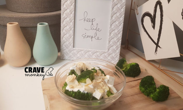 BROCCOLI AND FETA CHEESE STARTER