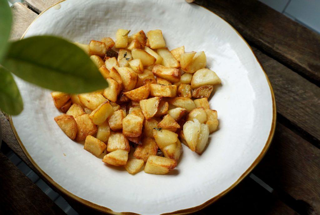 Картошка на завтрак