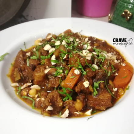 TENDER PORK LOIN TAGINE