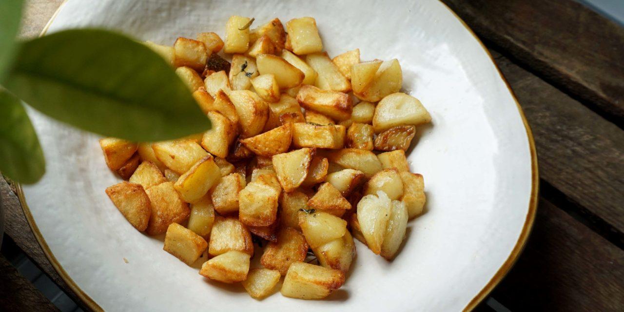 Śniadaniowe ziemniaczki