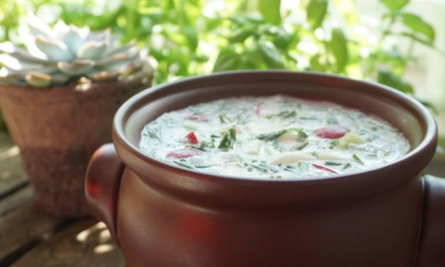 White cold soup (family recipe)