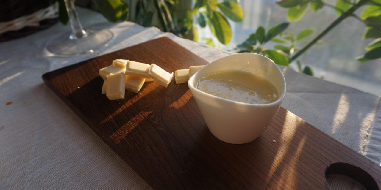 Biała polewa jogurtowo-czekoladowa