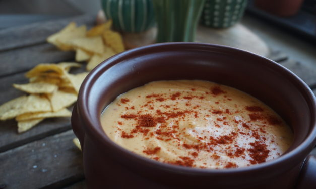 5-minute cheese dip