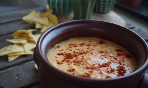 5-minute cheese dip