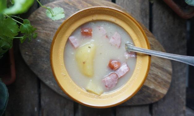 Sour rye soup (żur)