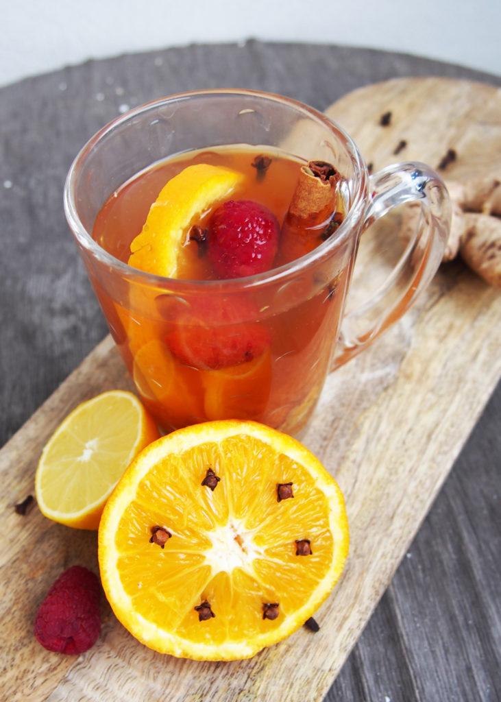 Przepis na zimową herbatę korzenną
