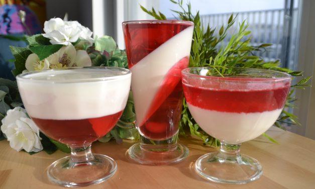 Red & white jellies