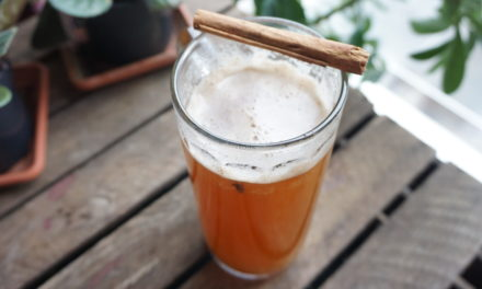 Perfect mulled beer