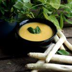 Крем-суп из спаржи и морковки