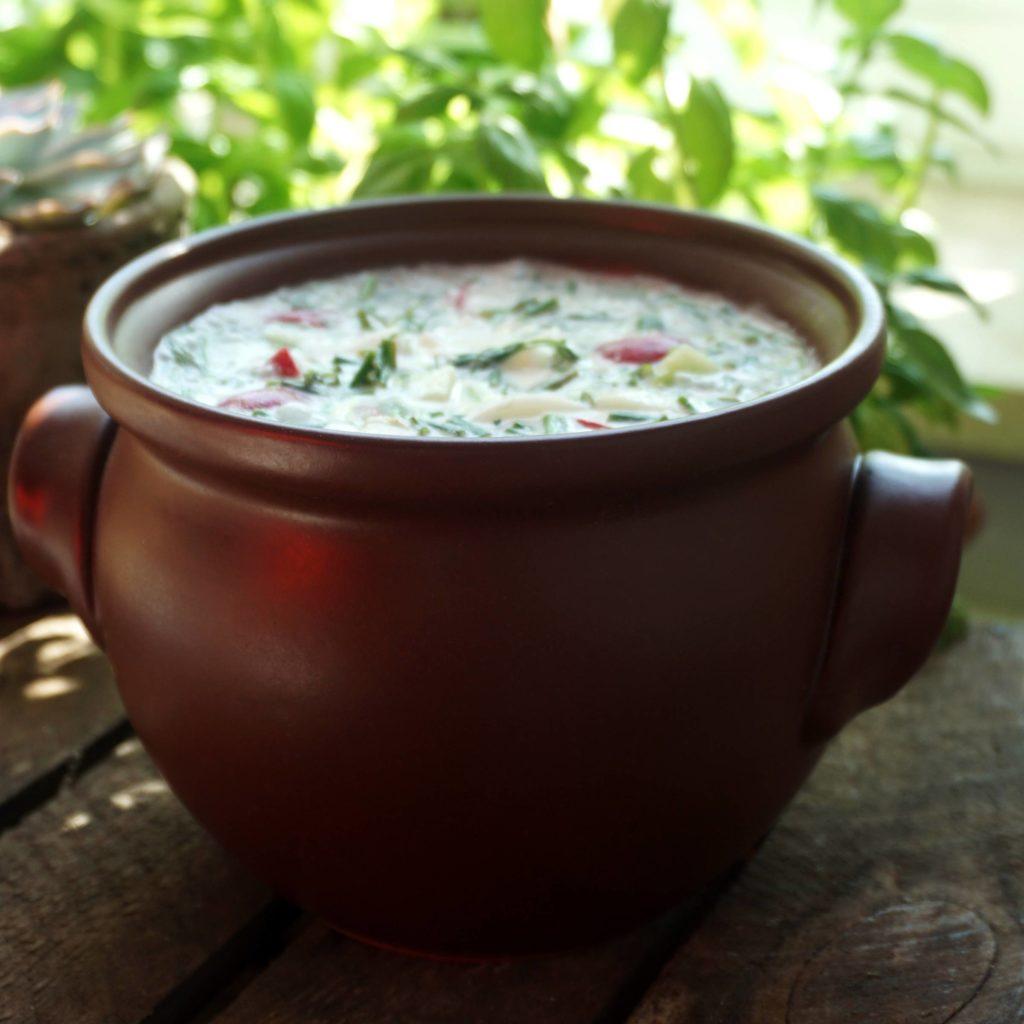 White cold soup (family recipe)