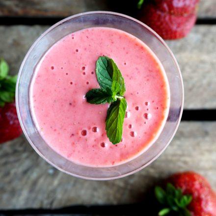Best strawberry milkshake