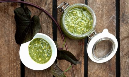 Homemade pesto Genovese