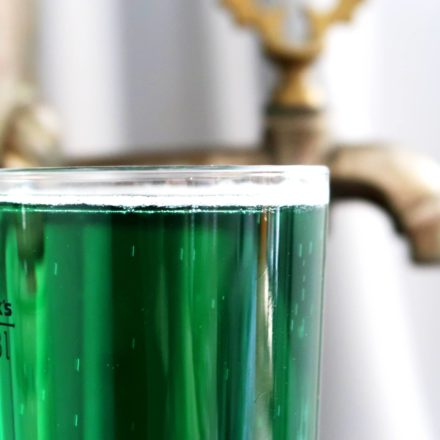 Green beer - st. Patrick day drink