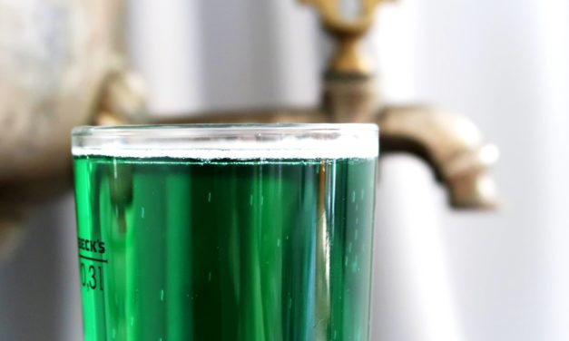 Green beer – st. Patrick day drink