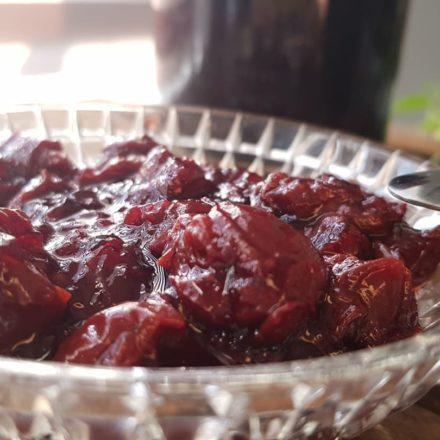 Grandpa's jam - cherry jam