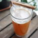 Mulled beer with honey